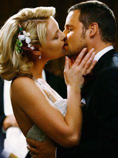Izzie and Alex,