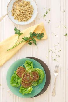 Lightened-Up Herbed Falafel