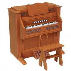 Download Reed Organ Papercraft Model