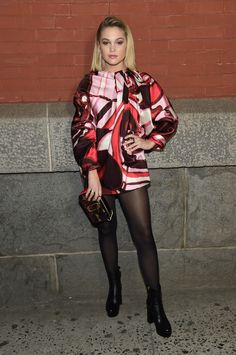 Olivia Holt at the Marc Jacobs Fall 2018 Show