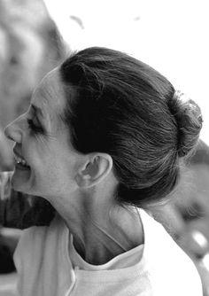 Eine bewundernswerte Frau.