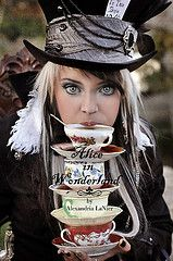 Photography by Alexandria LaNier. The Mad Hatter from Alice in Wonderland.