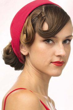 Укладка и прически в стиле ретро: фото, как сделать своими руками с лентой на длинные волосы