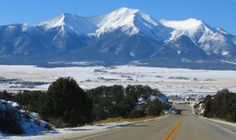 Collegiate Peaks,Buena Vista,Colorado  Been on this road many times.