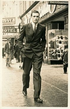 young man in a hurry 1940s