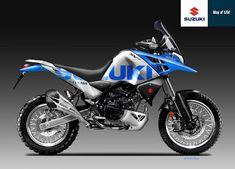 Motosketches: SUZUKI SV 650 RAID ECSTAR TEAM