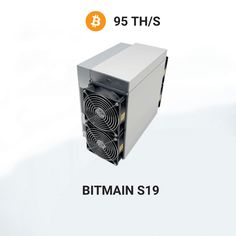 2499€ - Antminer S19 miningBitcoin algorithmwith a hashrate of 95Th/s.