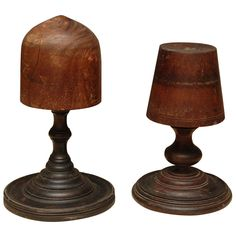 Pair Unusual Hat Blocks