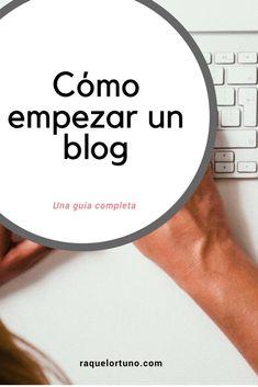 Cómo hacer un blog paso a paso – www.raquelortuno.com Business Checks, Business Tips, Business Names, Blog Gratis, Free Blog Sites, In Writing, Instagram Tips, Blogging, Blog Tips