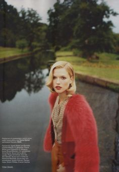 """""""To Be a Lady"""": Kasia Struss in the English Countryside by Tom Craig for Vogue Russia"""