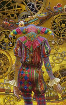 Giclee  by Victor Nizovtsev, painter of fables, fantasy, theatrical and imaginative art