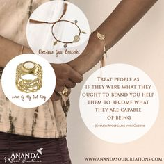Dare to bring out the magic in each other!!!   Love of my soul ring with citrine: https://www.anandasoulcreations.com/product/love-of-my-soul-ring-citrine-gold-vermeil/  Precious you bracelet: https://www.anandasoulcreations.com/product/precious-you-bracelets-amethyst-blue-topaz-gold-vermeil-lavender-thread/  #anandasoul #jewelry #bali
