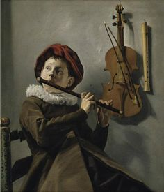 Judith Leyster (Dutch, 1609 - 1660) Young Flute Player, c 1635