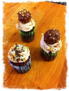 Cupcakes Torre Rocher by @cupcakefolies