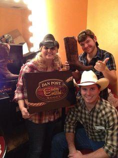 Wildhorse Saloon,Nashville Tennessee,  dance instructors love their Dan Post Boots!
