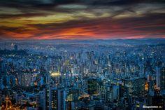 Belo Horizonte (Beautiful Horizon) | Photo by - Waguinho A