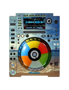 Pioneer CDJ 2000 Remix Art Contest Djs love art too and artists love music. Pioneer Cdj 2000, Pioneer Dj, Dj Electro, Dj Remix, Dj Equipment, Pipe Dream, Music Production, Booth Design, House Music