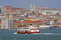 Lisbon, Cacilheiro - Rio Tejo, Tagus River  PORTUGAL