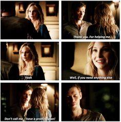 Klaroline. Season 4. The Vampire Diaries. ♥
