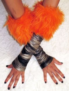 Halloween Gloves also known as -Kittys-