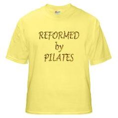 Reformed by Pilates Yellow T-Shirt