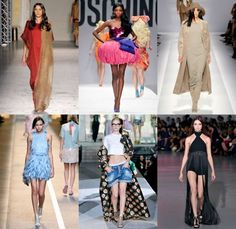 These are definitely solid trends for spring! Straight from MFW Runways!