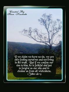 Bible Verse For Today, Bible Verses, 1 John 1 8, Bible Forgiveness, Cleanse, Faith, God, Dios, Allah