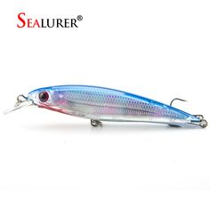 Fishing Lure 11CM 13G 1PCS Laser Minnow Pesca Fly Fishing Wobbler Carp Hard Bait Crankbait Fishing Tackle 7 Colors Available