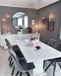 Home Interior Warm .Home Interior Warm Dining Room Table Decor, Living Room Decor Cozy, Elegant Dining Room, Luxury Dining Room, Home Living Room, Inspire Me Home Decor, Easy Home Decor, Home Decor Kitchen, Diy Kitchen