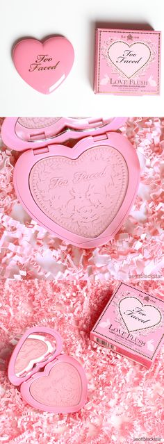 Too Faced Love Flush blush in Justify My Love - asoftblackstar