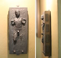 Han Solo in Carbonite Light Switch. I hate how you have to give him a handjob to switch the lights on or off though-___-