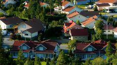 Family houses in Seinäjoki.