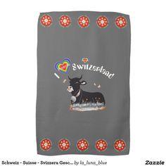 Schweiz - Suisse - Svizzera Geschirrtücher Handtücher