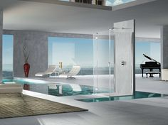 Pura 5000 new elegante y de sofisticada técnica, así es la nueva mampara de ducha fabricada por Duka.