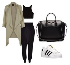 """""""Untitled #42"""" by georgiarose2008 on Polyvore featuring New Look, adidas and Givenchy"""