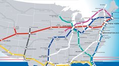 A Beautiful Vision Of An American High-Speed Rail Map | Co.Exist | ideas + impact