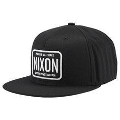 6e2c5bde621 Nixon Men's Decal 210 Hat Cool Names, Custom Logos, Best Sellers, Snapback,