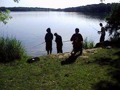 family fun- fishing and camping!