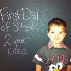 First Day of School pic