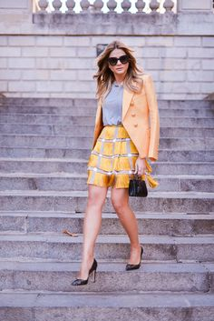 #ThássiaemParis: About Yellow Look!
