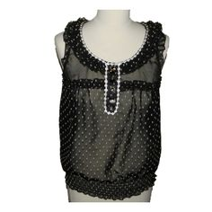 Top River Island - black&white - UK10 - eur36
