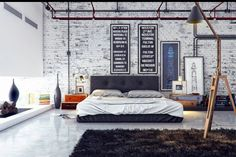 City Loft ~ modern and sleek, graphic, minimalist patterns, trendy. inspiration: SoHo, NYC, downtown, urban living.