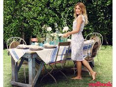 """""""Anything that looks too put-together is too fussy for me,"""" says Lauren Conrad. """"If it feels fussy, then people might not be comfortable. A successful party is about comfort and making people feel welcome."""""""