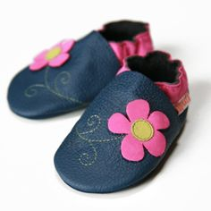 Liliputi® Soft Baby Shoes Spring Flower  #soft #liliputi #babyshoes #flower