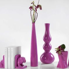 Sleek and Sophisticated! This statuesque floor #vase from #mascagni will be a gorgeous addition to your home or office.