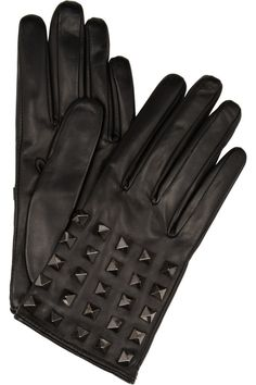Valentino Rock Studded Gloves  very chic and glamorous.  I love it when i wear it with a biker's leather jacket it's so sexy!