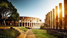 Coliseu, na Itália