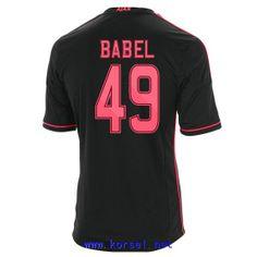 Maillot de foot AFC Ajax Exterieur 2013 2014 (49 Babel) Noir Pas Cher http://www.korsel.net/maillot-de-foot-afc-ajax-exterieur-2013-2014-49-babel-noir-pas-cher-p-3365.html