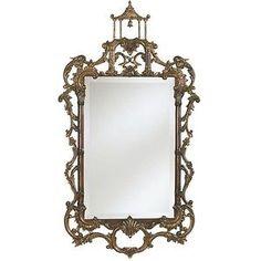 New Ethan Allen Chinese Chippendale Mirror #EthanAllen