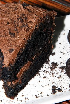 Delectably Different: Dairy-Free Gluten-Free Chocolate Cookie Cake